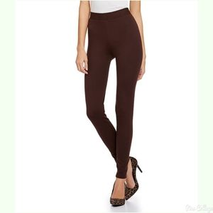 Laundry By Shelli Segal Brown leggings-S